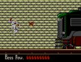 Shadow Dancer SEGA Master System The second boss is an armoured train.