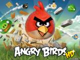 Angry Birds iPad Title Screen