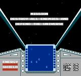 Star Luster NES The mission objective is simple and to the point