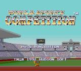 World Sports Competition TurboGrafx-16 Title Screen