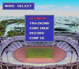 World Sports Competition TurboGrafx-16 Select the mode you want to play