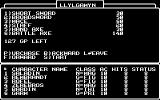 Wizardry: Legacy of Llylgamyn - The Third Scenario Commodore 64 Buying weapons
