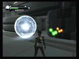 P.N.03 GameCube An end point of a trial mission, and some energy power ups