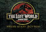 The Lost World: Jurassic Park SEGA Saturn Title screen