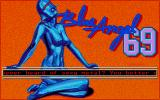Blue Angel 69 Atari ST Title Screen and Story