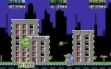 Rampage Commodore 64 Rampaging a city (Europe version)