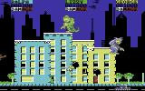 Rampage Commodore 64 Smashing buildings (Europe version)