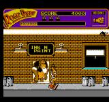 Who Framed Roger Rabbit NES This monkey won't let me in the club!