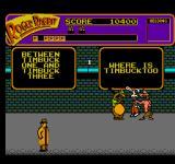 Who Framed Roger Rabbit NES Completing the joke and making the weasels laugh is Roger's only hope!