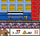 Tom & Jerry Game Boy Color If you leave Jerry for too long, he will play around like this