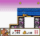 Tom & Jerry Game Boy Color Ouch!