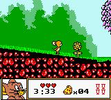 Tom & Jerry Game Boy Color That flower looks harmless, but don't laugh at it! It's a meat eating flower! You have been warned!