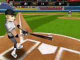Homerun Battle 3D iPad Training (no fans in the stands) getting a good solid hit