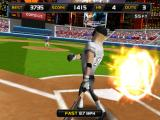 Homerun Battle 3D iPad 87 mph fast ball perfect hit!