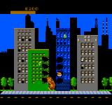 Rampage NES Trashing Buildings....