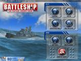 Battleship iPad Main menu - clear day