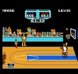 Arch Rivals NES The ball above the hoop