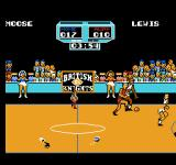 Arch Rivals NES Be careful not to trip over the trash in the middle of the court