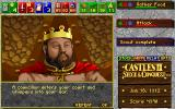 Castles II: Siege & Conquest DOS CD Rom Version: You receive a messenger...