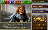 Castles II: Siege & Conquest DOS CD Rom Version: A knight.