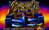 Carnage DOS Title Screen