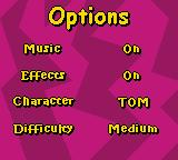 Tom and Jerry: Mouse Hunt Game Boy Color Options
