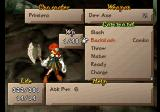 SaGa Frontier 2 PlayStation Duel commands