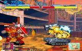 Cyberbots: Full Metal Madness SEGA Saturn Blocking an attack