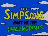 The Simpsons: Bart vs. the Space Mutants SEGA Master System Title Screen