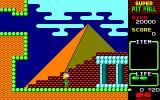 Super Pitfall PC-88 A rather picturesque starting area
