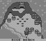 Wario Land: Super Mario Land 3 Game Boy Rice Beach