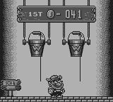 Wario Land: Super Mario Land 3 Game Boy Choose a bucket up to three times: either you loose half your coins, or you double your amount.