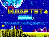 Quartet ZX Spectrum Title screen