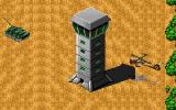 Jungle Strike DOS Level 8 - Control tower.