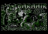Barahir Atari 8-bit Title screen