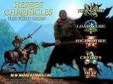 Heroes Chronicles: The Fiery Moon Windows Title screen