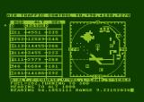 Controller Atari 8-bit 10 mile radar sweep - plane A missed approach low on fuel