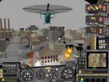 SimCopter Windows Calling fire trucks to attend to a fire helps, and is good when you are too busy to do it yourself.