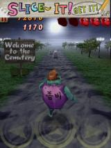 Zombie Runaway Android Entering the cemetery