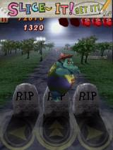 Zombie Runaway Android Jumping over tombstones