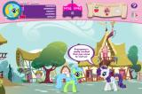 My Little Pony: Friendship is Magic - Adventures in Ponyville Browser Chatting with the locals.