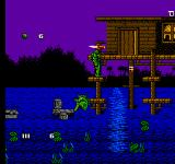 Swamp Thing NES Trouble down in the Bayou