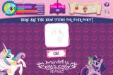 My Little Pony: Friendship is Magic - Adventures in Ponyville Browser ...you get stuff like this for your score.