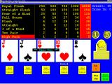 Masque Video Poker Windows 3.x The ten of hearts was held and the remaining cards were redealt. A pair of jacks appeared so the original stake was recovered. The game will pause at this screen until another bet is made.
