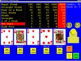 Masque Video Poker Windows 3.x Here the first deal provided two pairs. Since the player must redeal its important to make sure the winning cards are held before pressing the Deal button a second time