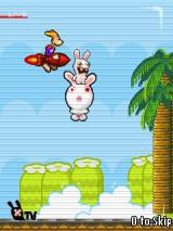 Rayman Raving Rabbids TV Party J2ME Rabbid Jones intro