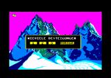 Final Assault Amstrad CPC Choose a mountain (in German)