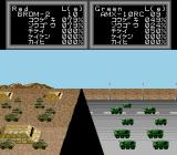 Super Daisenryaku TurboGrafx CD Combat of armoured vehicles - BRDM-2 and AMX-10RC