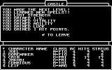 Wizardry: Proving Grounds of the Mad Overlord Commodore 64 Jakobi is now a Lvl3 Priest!
