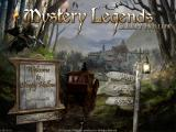 Mystery Legends: Sleepy Hollow iPad Title / main menu (free version)